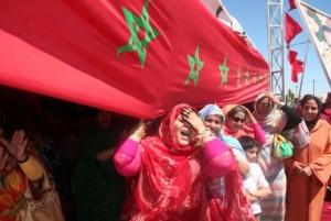 drapeau-marocain-tindouf
