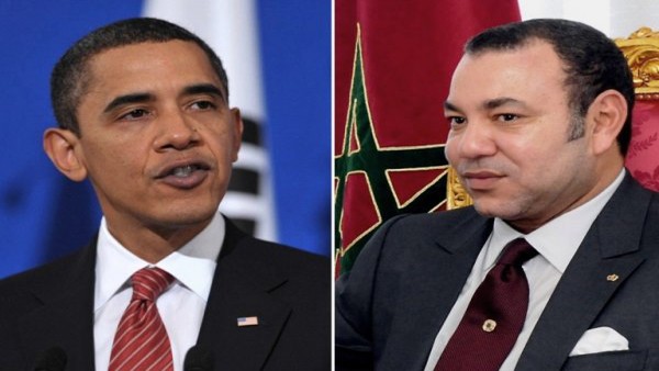Rencontre obama mohammed 6