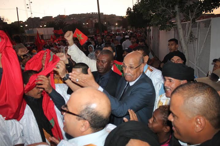 Sahara occidental: 30.000 personnes manifestent à Laayoune pour l'autonomie et le départ de la Minurso