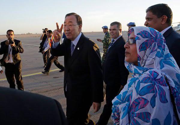 Maroc-ONU-Sahara: Ban Ki-Moon projeté dans la gueule du loup par ses proches collaborateurs