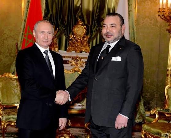 Un long entretien du Roi Mohammed VI avec le président Poutine au sujet du Sahara