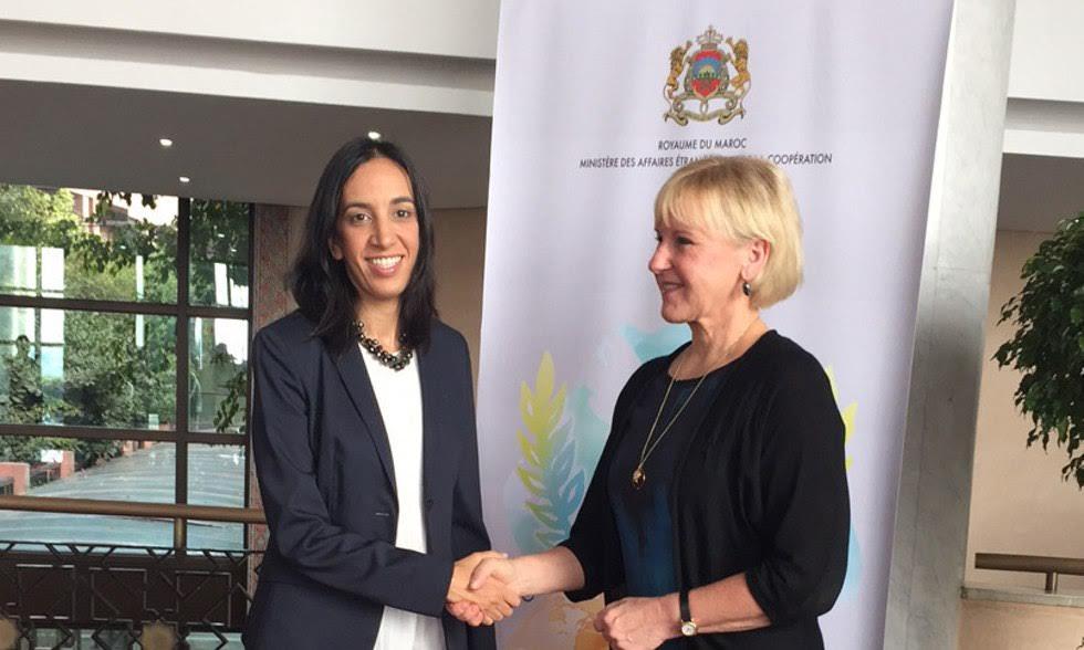 La ministre suédoise des A.E à Rabat pour confirmer la normalisation