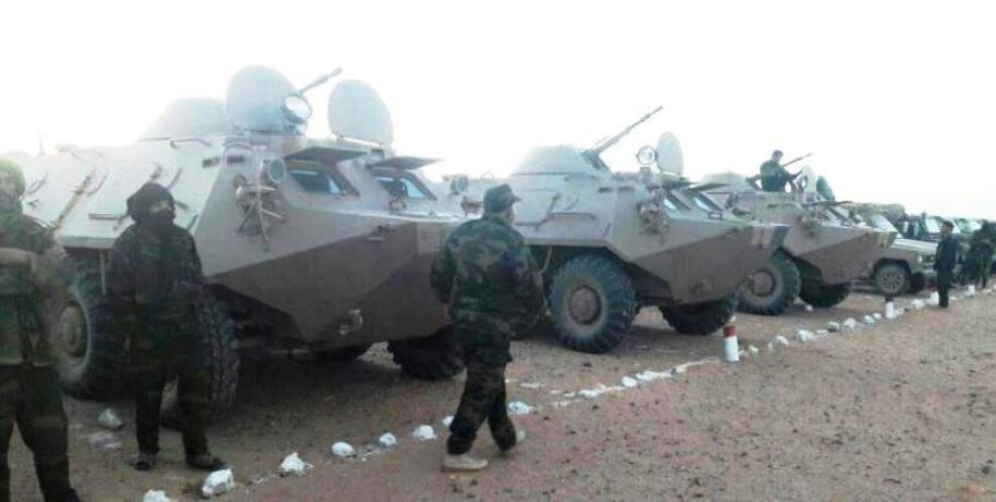 Le régime algérien livre des armes au Polisario pour l'inciter à l'escalade