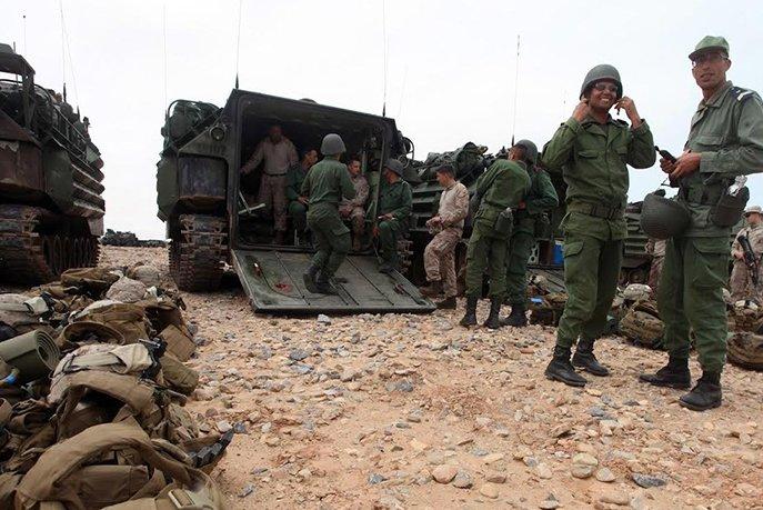 L'armée marocaine prête à riposter aux dérapages du Polisario à Guerguerat