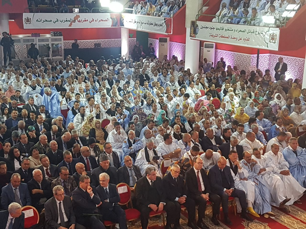 Maroc : Grande manifestation «patriotique» à Laâyoune contre les «provocations» du Polisario