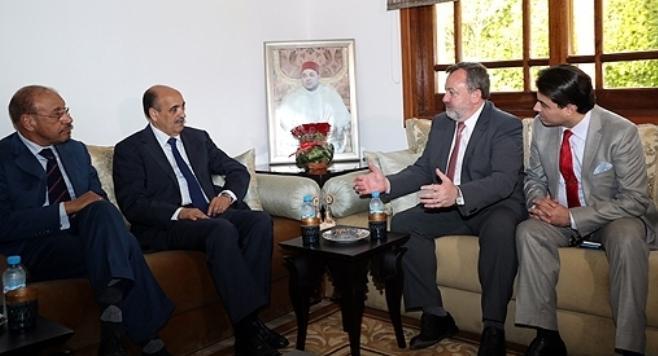 L'autonomie du Sahara au centre d'un entretien entre les présidents du CORCAS et du Sénat irlandais