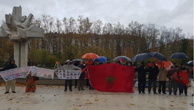 Manifestation au Pays Basque contre les graves violations des droits de l'homme par le Polisario